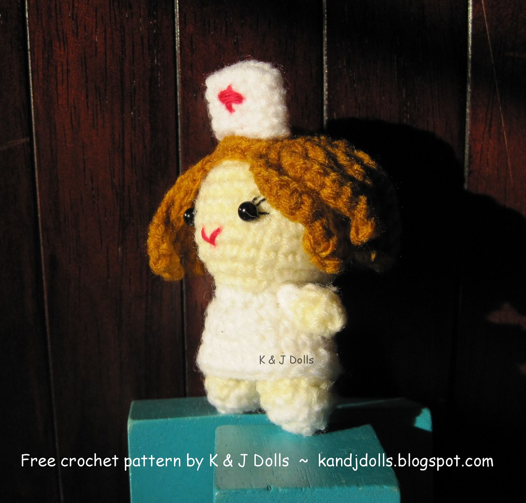 Nurse Jazzy - Sayjai Amigurumi Crochet Patterns ~ K and J Dolls ... | 978x1024