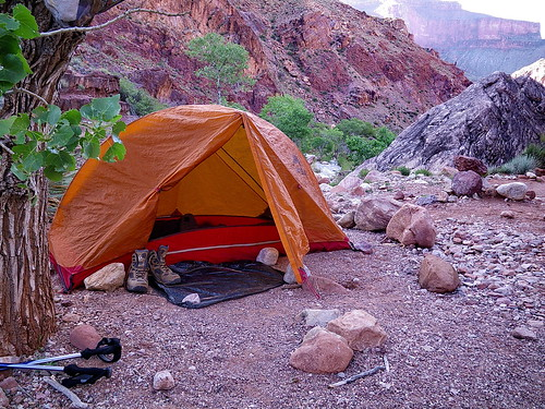 MSR Hubba at Clear Creek Campground - Grand Canyon | by Al_HikesAZ