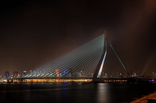 Erasmusbrug by night | by Wouter Sonneveldt