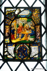 Bunratty Castle Stained Glass 3 | by Lyons, Tigers, and Bears...Oh My!