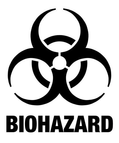 photo relating to Printable Biohazard Sign named Biohazard Position 4 Flickr - Photograph Sharing!