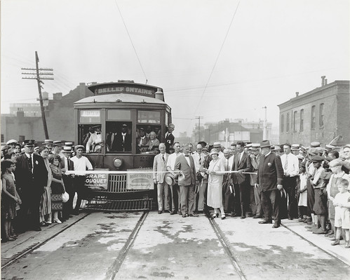 Ceremonial opening of the Fourteenth Street viaduct on 10 July 1925 | by Missouri Historical Society
