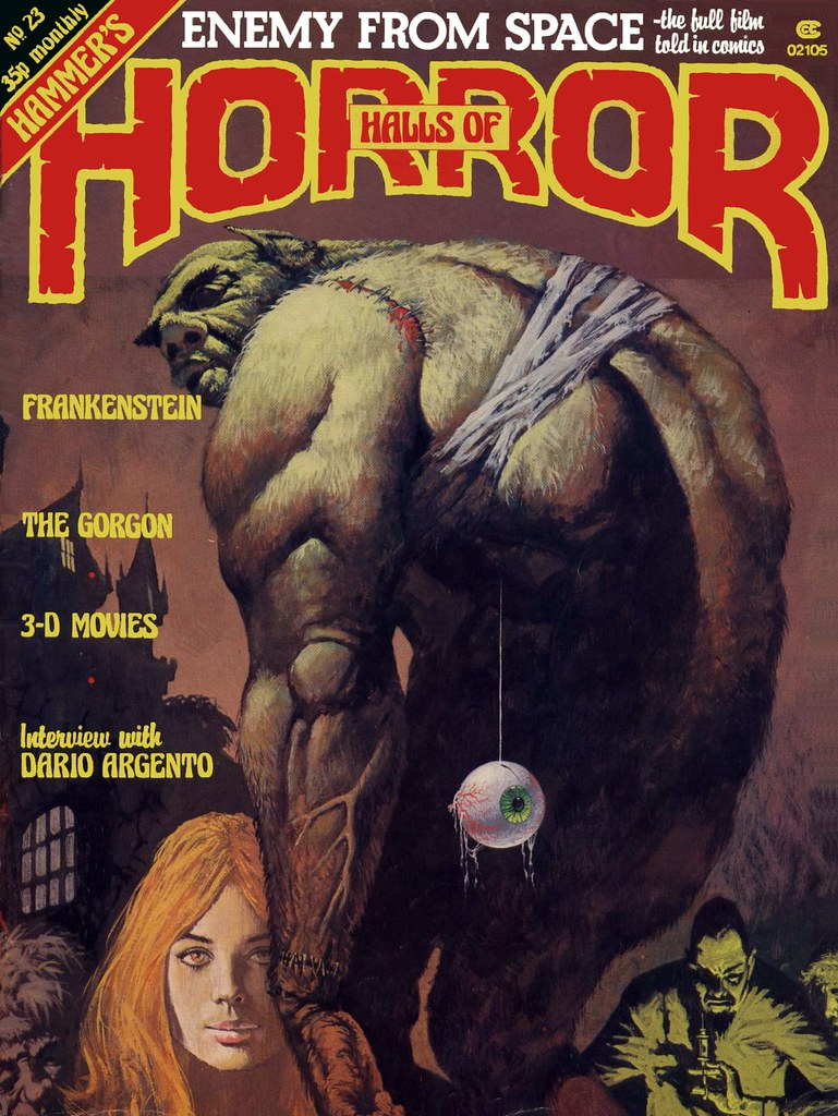 The House Of Hammer house of hammer magazine (halls of horror) - issue 23 (198