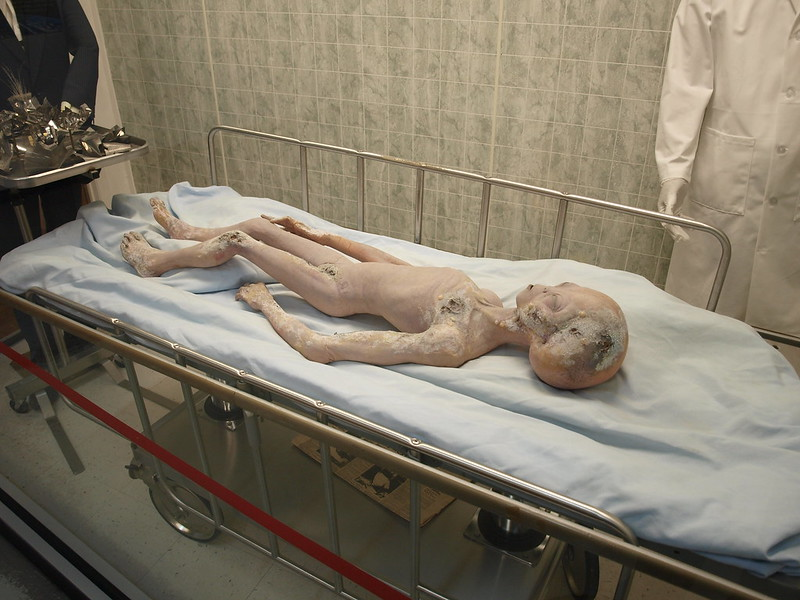 Alien Autopsy, UFO Museum Research Center, Roswell New Mexico