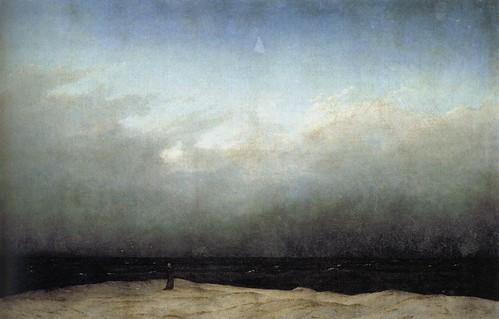 Monk at the sea