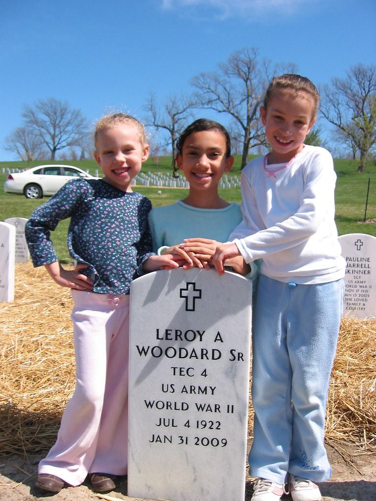 Grandpa's gravesite