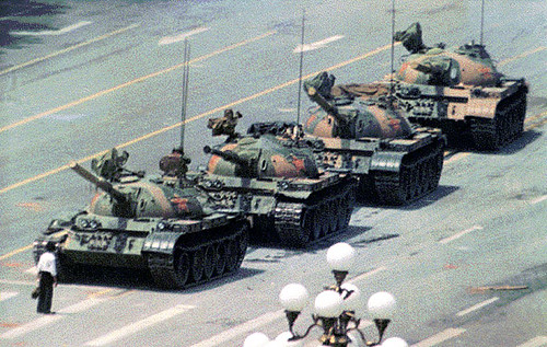 Tiananmen Square Protest (tian_med) | by mandiberg