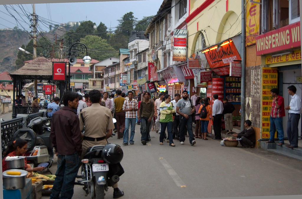 Mussoorie - Mall Road