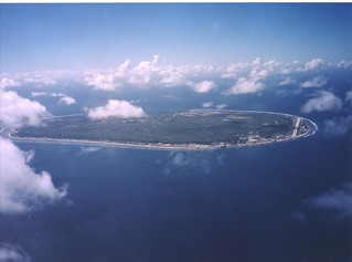 Nauru Island from the Air | by ARM Climate Research Facility