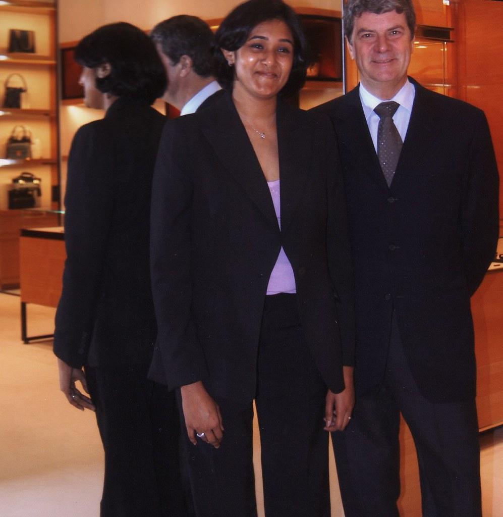34566c3cedb Prasanna Bhaskar Retail Head Louis Vuitton with CEO Yves C… | Flickr