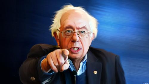 Bernie Sanders - Painting | by DonkeyHotey
