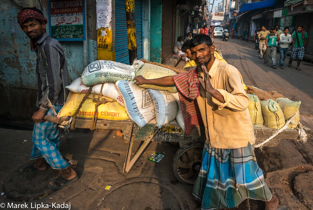 Street Of Delhi, India