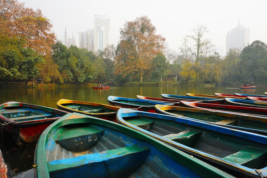 People's Park (人民公园), Chengdu
