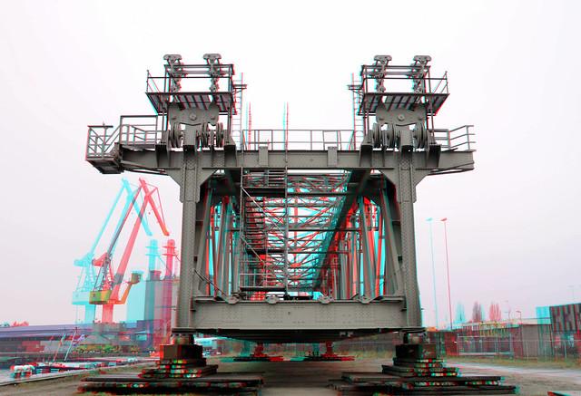 Painted Lift-section De Hef Rotterdam 3D
