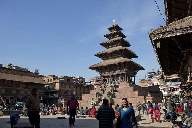 NPL - Bhaktapur - Taumadhi Square 022
