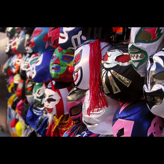 January 29, 2009: mascaras de luchadores | by ultrapop (moving to iPernity)