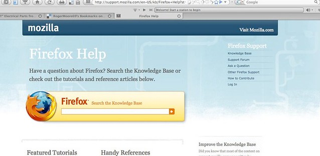Firefox Help | Just a Pilgrim | Flickr