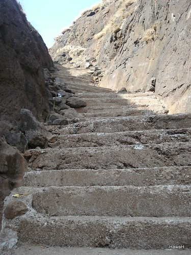 Stone stairs leading to Hanuman Hill | by everlutionary