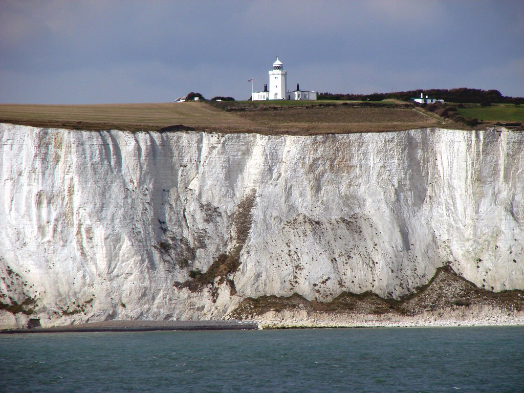 Chalk cliffs near Dover (UK), South Foreland Lighthouse | Flickr