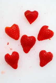I <3 strawberries. | by a.meadowlark