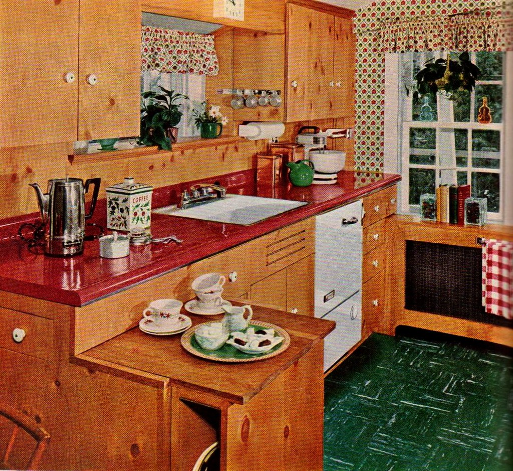 "Remodeling Knotty Pine: ""Knotty Pine Cabinets Give A Warm"