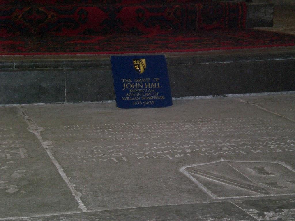 Grave of John Hall | John Hall war der husband of Susanna ...