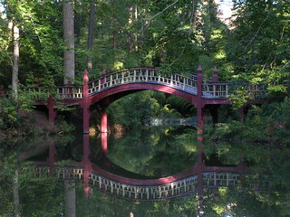 The bridge over the Crim Dell at the College of William and Mary | by benuski