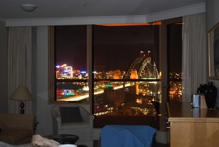 Night - Lounge with Harbour Bridge View | by avlxyz