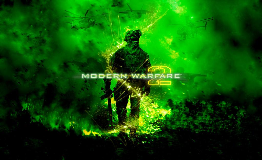 Custom Modern Warfare 2 Wallpaper | This wallpaper took me a