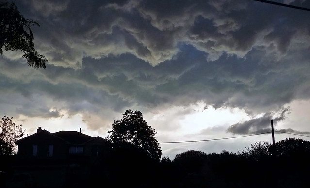 Texas Storm Clouds