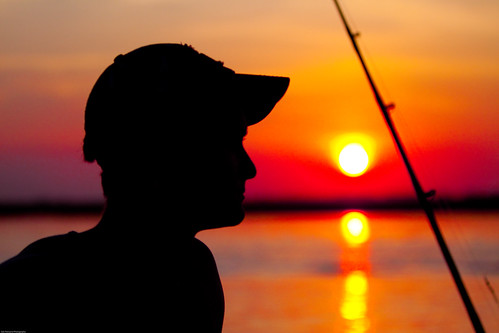 silhouette june canon silhouettes sunsets myfav 2009 canonef70200mmf28lisusm fishingoffshore joshpancamo
