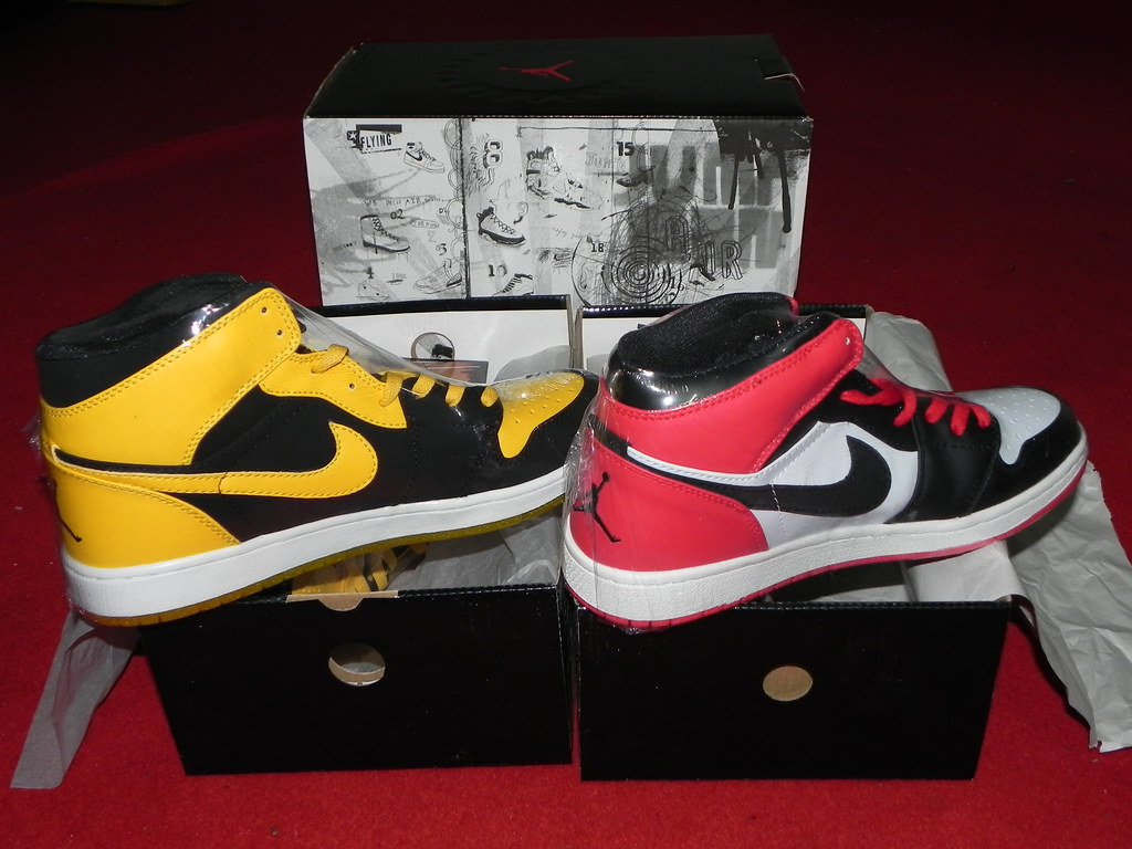 vast selection on feet shots of huge discount Nike Air Jordan Retro 1 I BMP Old Love New Love Edition(Wh ...