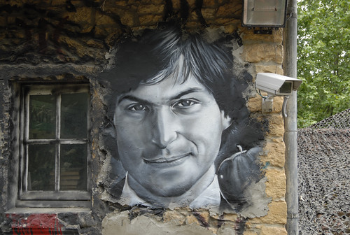 Steve Jobs painted portrait _DDC7953 | by Abode of Chaos