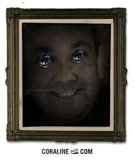My Coraline Button Eyes Photo