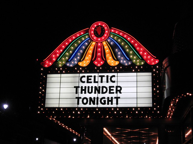 Celtic Thunder at Genesee Theater April 24, 2009