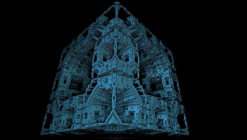Distorted Menger Sponge | by Syntopia