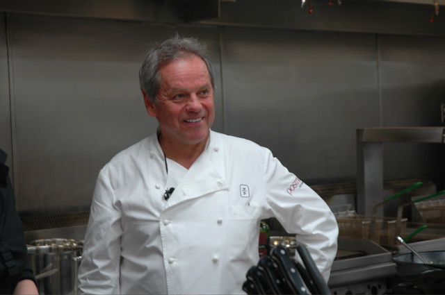 Getting Ready for the Governor's Ball with Wolfgang Puck