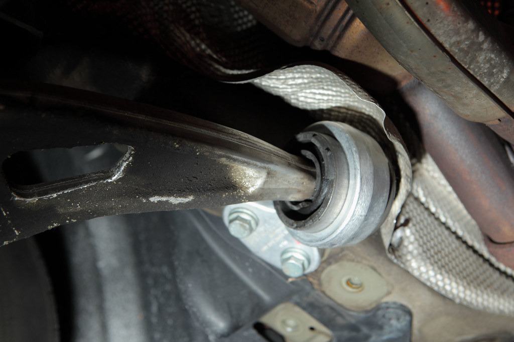 BMW Lower Control Arm Bushing Replacement (E46) | Blogged at… | Flickr