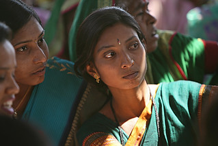 Young women in a community meeting | by World Bank Photo Collection