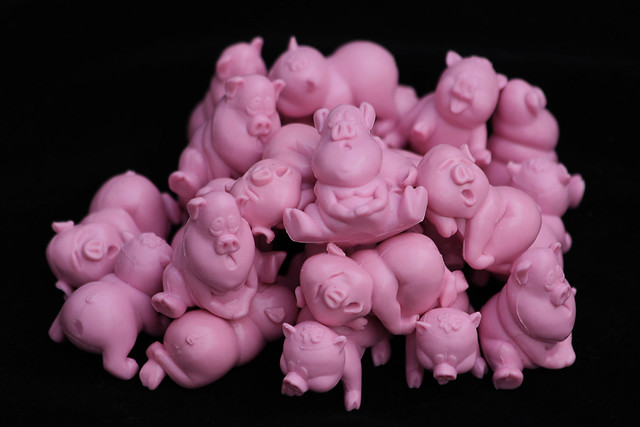 pile of pigs