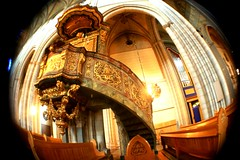 Ornate Staircase Leads to Heaven