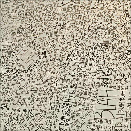 "Détail de ""Blah, blah, blah"" du studio Louise Campbell (Maison du Danemark) | by dalbera"