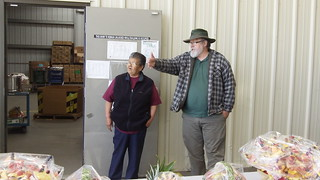 Mary Lopez and Produce Bob | by Second Harvest Food Bank