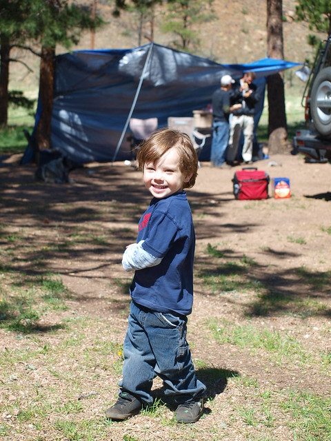 HAPPY CAMPER AT METBERRY GULCH