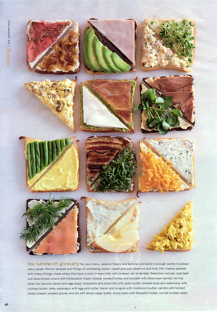 Sandwich - Tea Sandwiches B