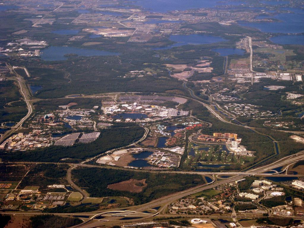 Florida Aerial View Walt Disney World Resort 2 Flickr