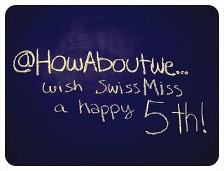 happy birthday, swissmiss!