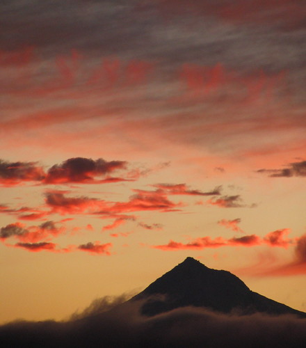 mountain oregon sunrise mthood troutdale sunrisepark