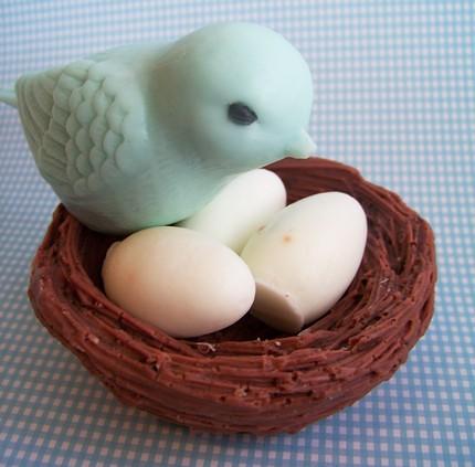 Blue Bird Nest Soap Set | by loveleesoaps