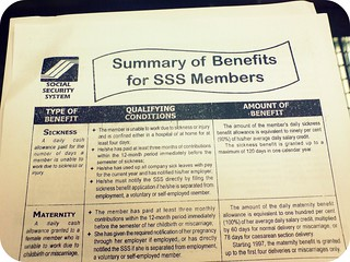 Know your SSS Benefits | by Toni Girl